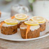 Сыроедческие Морковные Кексы