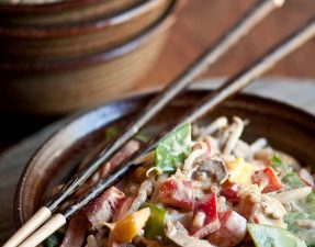 Сыроедческие Овощи по-Тайски