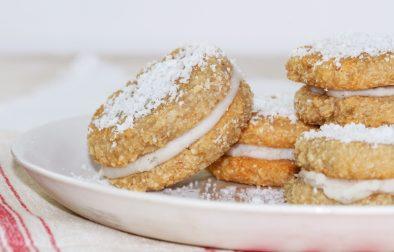 Сыроедческие Печенья-Сэндвичи