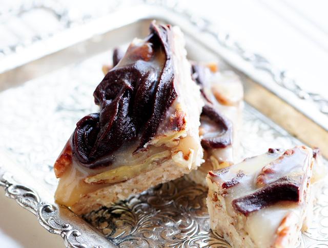 Сыроедческие Песочно-Кремовые Пирожные