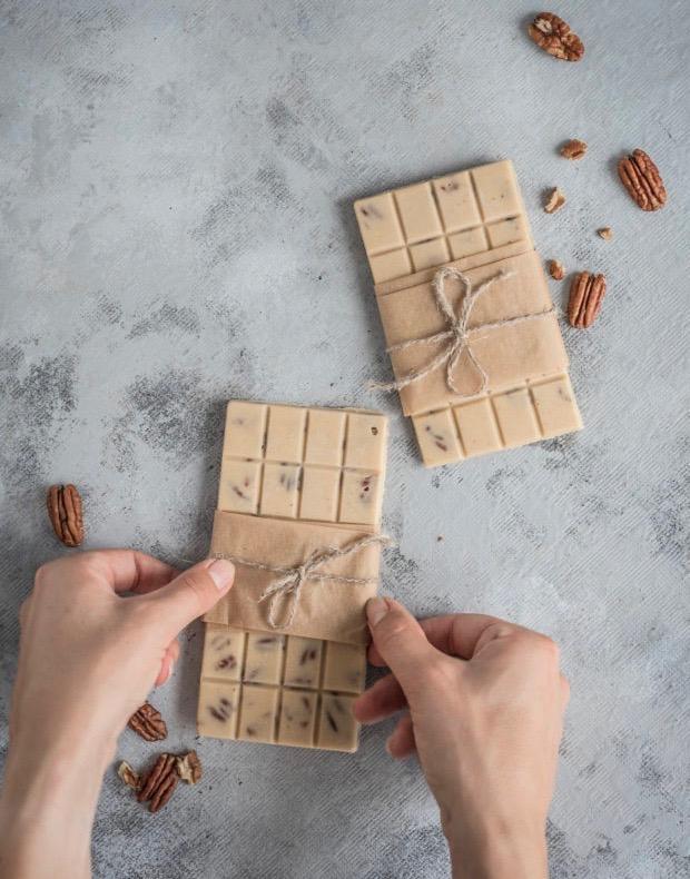 Сыроедческие «Шоколадные» Плитки из Тахини