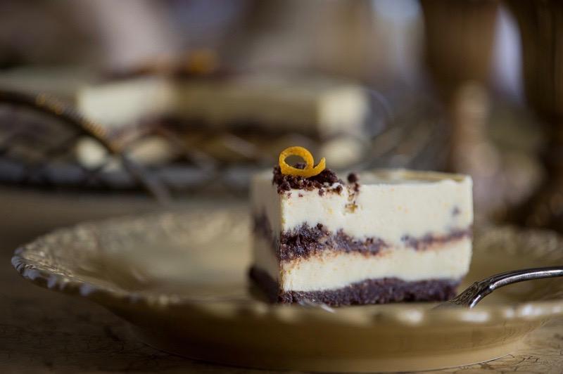Сыроедческий Апельсиновый Торт