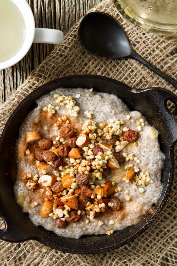 Сыроедческий Чиа-Боул на Завтрак