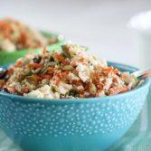 Сыроедческий Детокс-Салат из Цветной Капусты