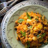 Сыроедческий Морковный Салат с Карри