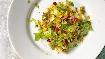 Сыроедческий Салат из Брюссельской Капусты