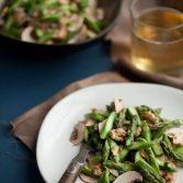 Сыроедческий Салат из Спаржи и Грибов