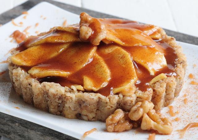 Сыроедческий Яблочный Пирог