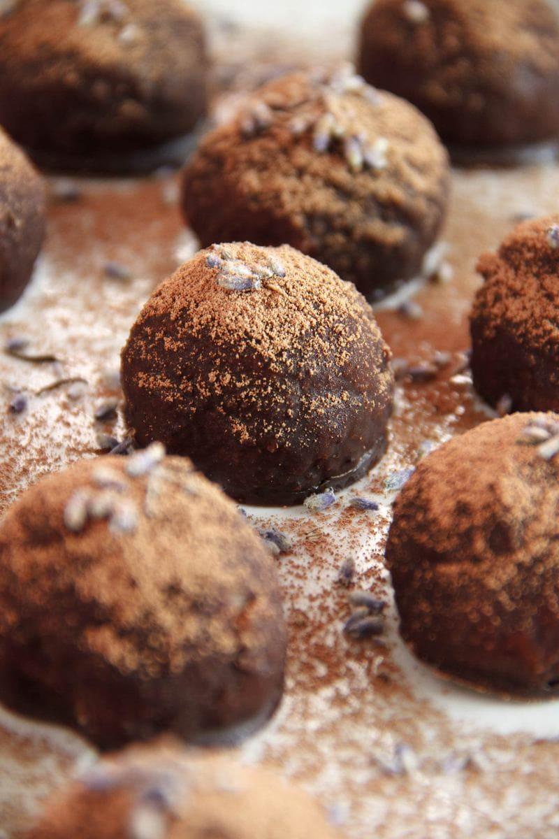 Сыроедческие Кокосово-Лавандовые Бомбочки