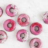 Сыроедческие Пончики «Красный Бархат»