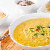 Сыроедческий Чечевичный Суп с Карри