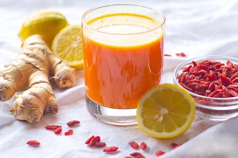 Сыроедческий Детокс-Чай с Ягодами Годжи