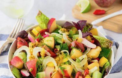 Сыроедческий Фруктово-Овощой Салат