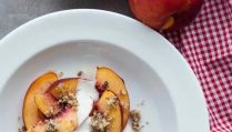 Сыроедческий Фруктовый Десерт из Персиков