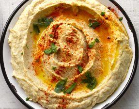Сыроедческий Хумус из Орехового Жмыха