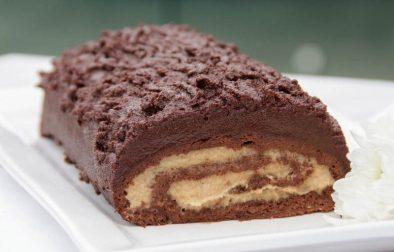 Сыроедческий Шоколадный Рулет
