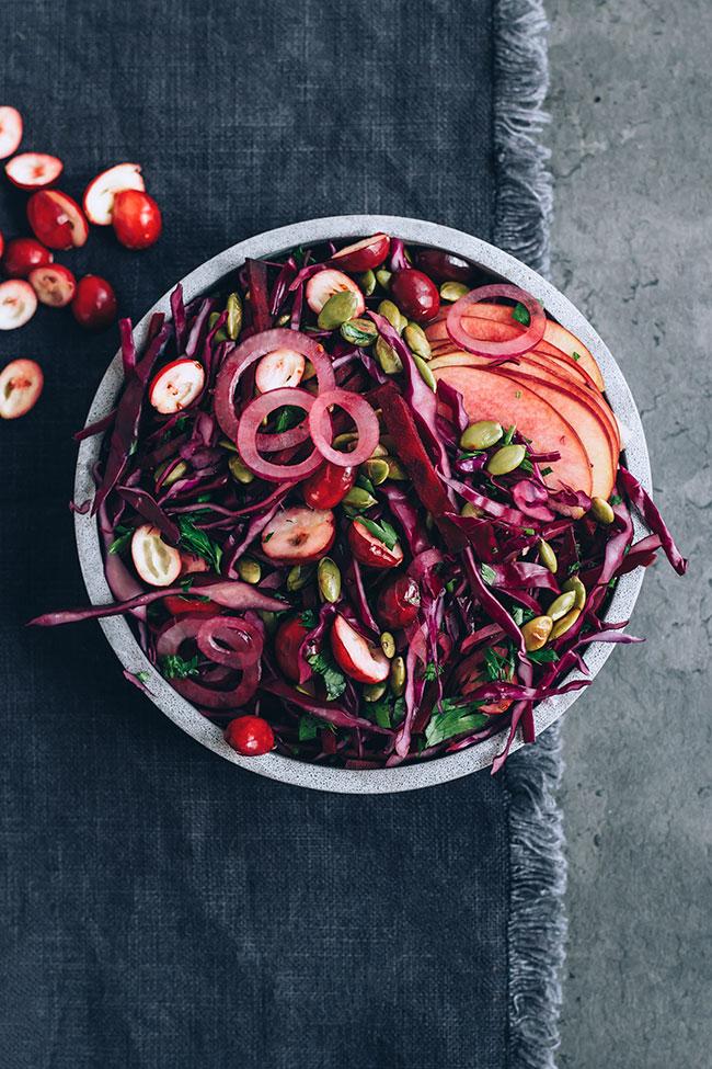 Сыроедческий Салат для Иммунитета