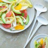 Сыроедческий Салат из Цитрусовых и Эндивия