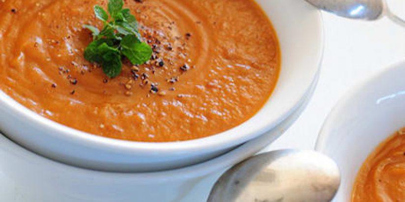Сыроедческий Суп из Батата