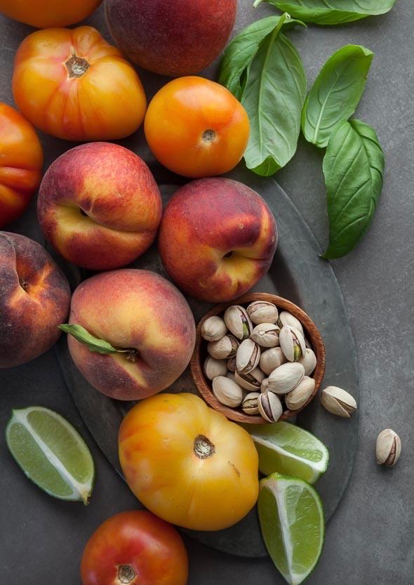 Сыроедческий Томатно-Персиковый Суп