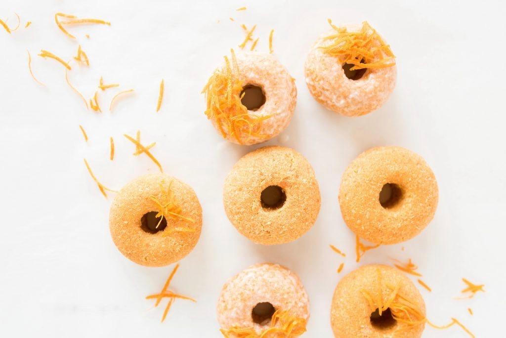 Грейпфрутовые Сыроедческие Пончики