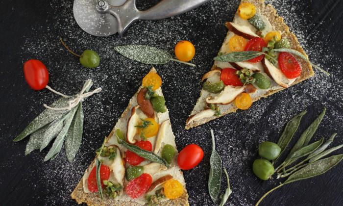 Сыроедческая Пицца из Брюквы