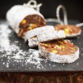 Сыроедческая Шоколадная «Салями»