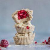 Сыроедческие Малиново-Кунжутные Пирожные