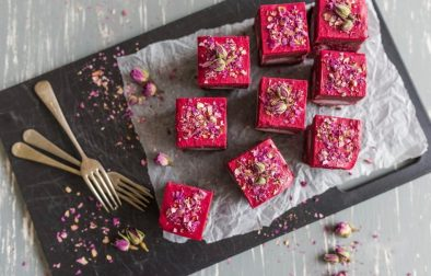 Сыроедческие Свекольно-Малиновые Пирожные