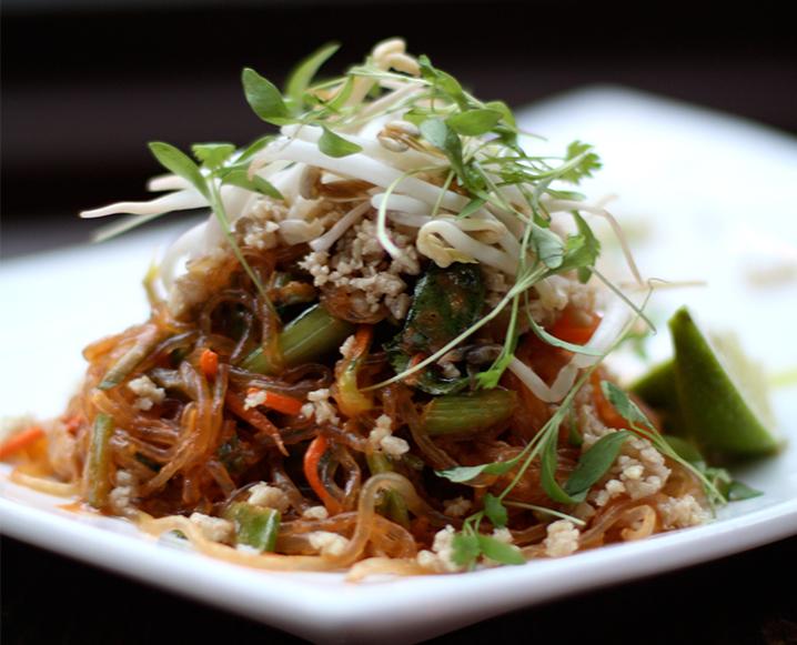 Сыроедческий Азиатский Салат с Тамариндом