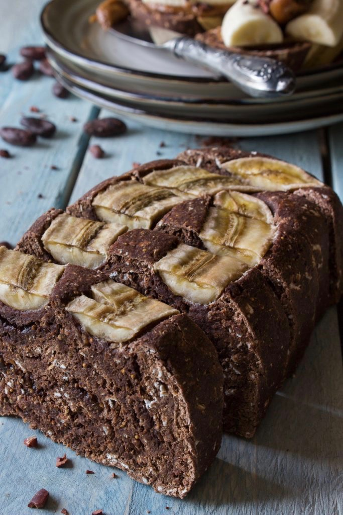 Сыроедческий Банановый Хлеб
