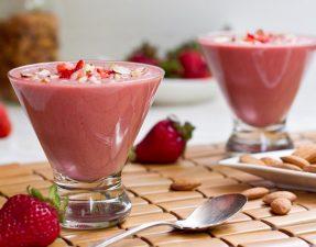 Сыроедческий Миндально-Клубничный Десерт