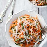 Сыроедческий Салат из Репы