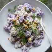 Сыроедческий Салат с Капустой и Хреном