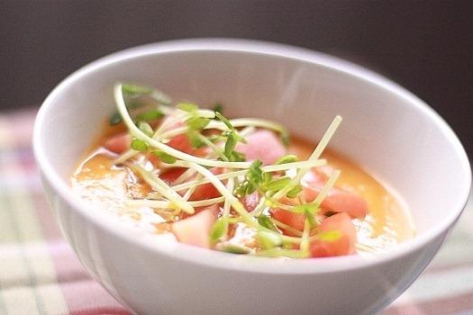Сыроедческий Томатно-Морковный Суп