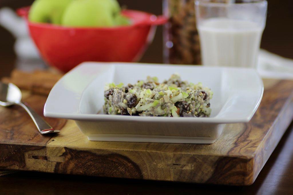 Сыроедческий Завтрак из Яблок и Чиа