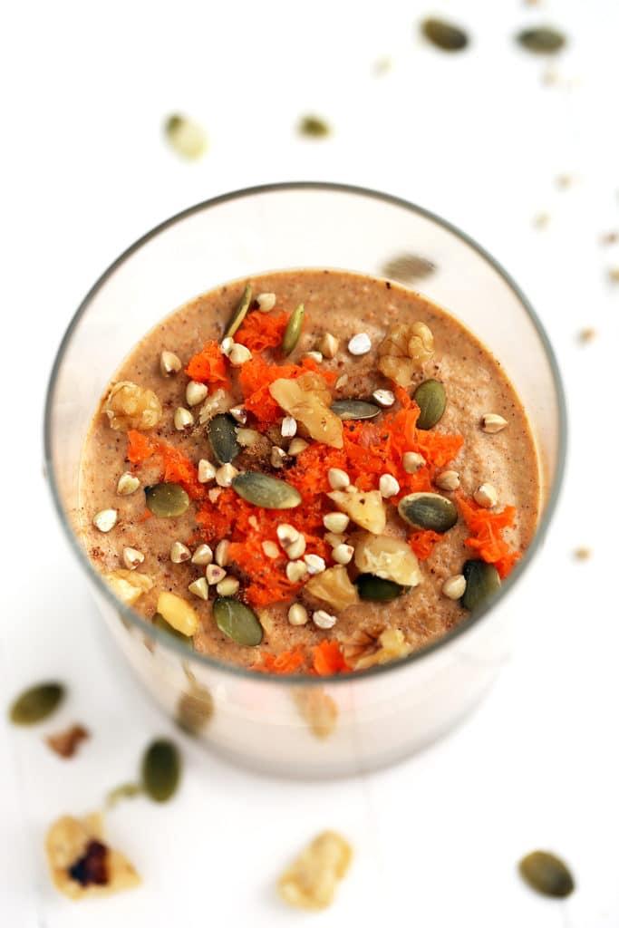 Сыроедческая Каша со Вкусом Морковного Пирога