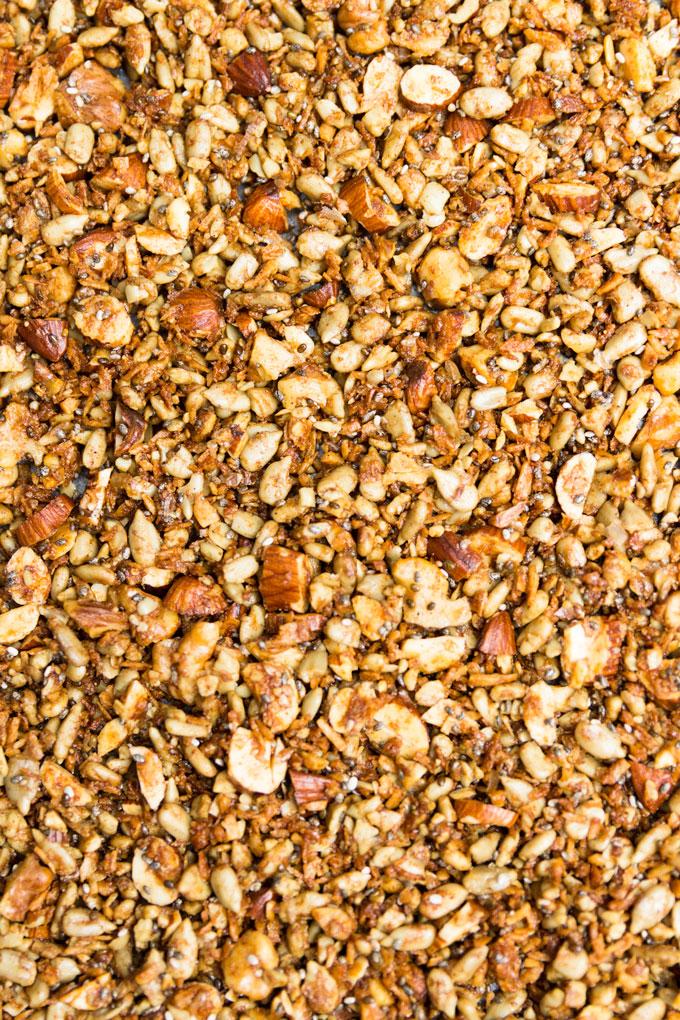 Сыроедческая Ореховая Гранола без Злаков