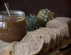 Сыроедческий Хлеб без Орехов с Джемом