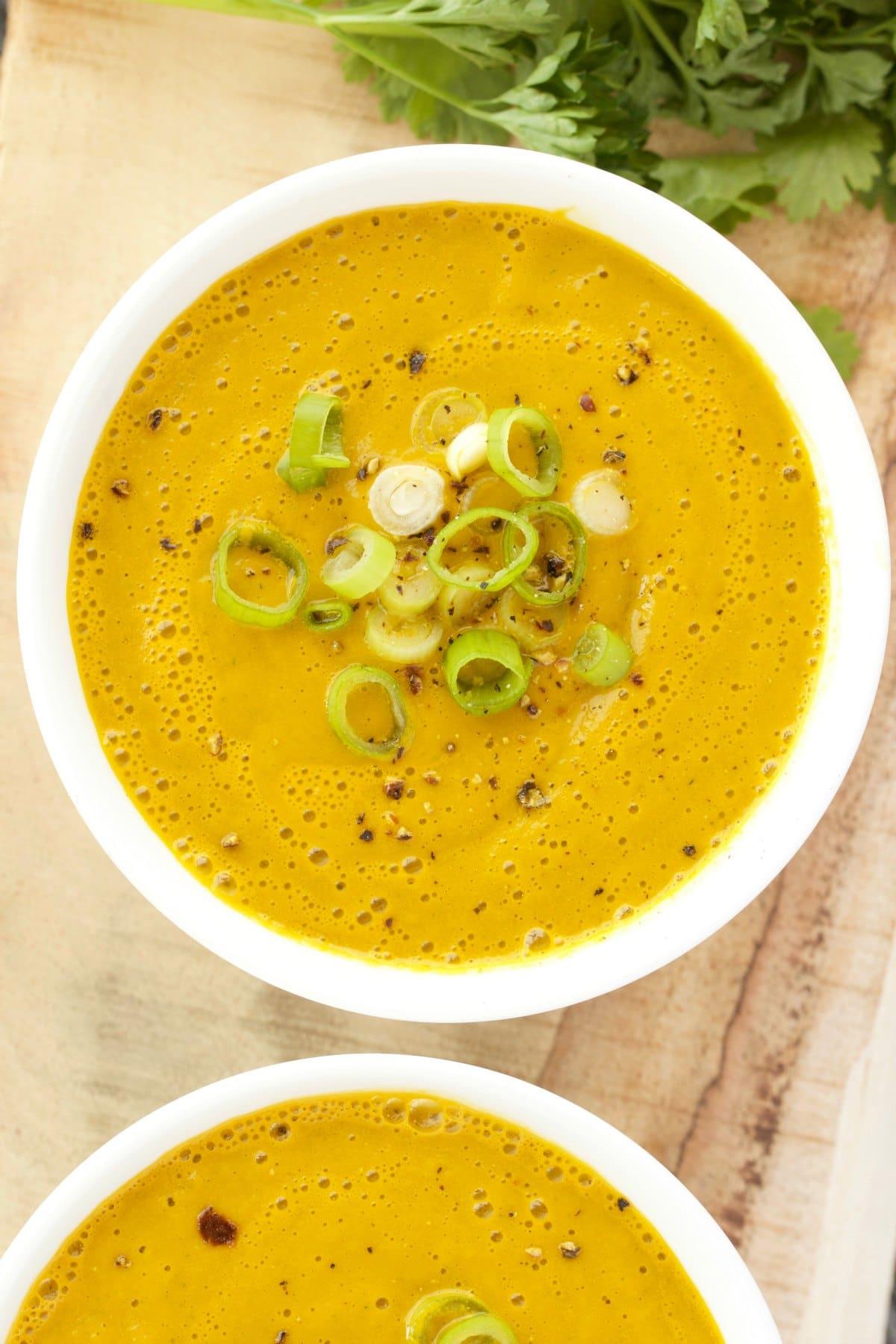 Сыроедческий Морковно-Авокадный Суп