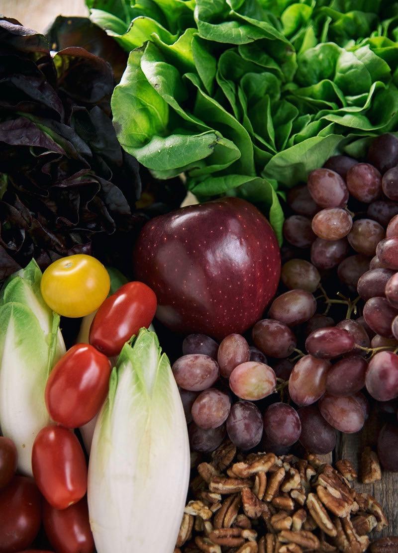 Сыроедческий Салат из Эндивия и Орехов Пекан