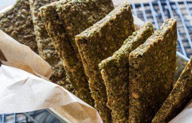 Сыроедческие Хлебцы из Брокколи