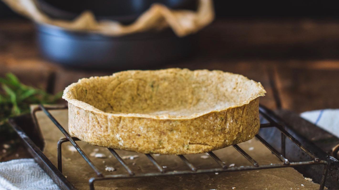 Сыроедческий Корж для Глубоких Пирогов