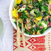 Сыроедческий Повседневный Салат с Суперфудами