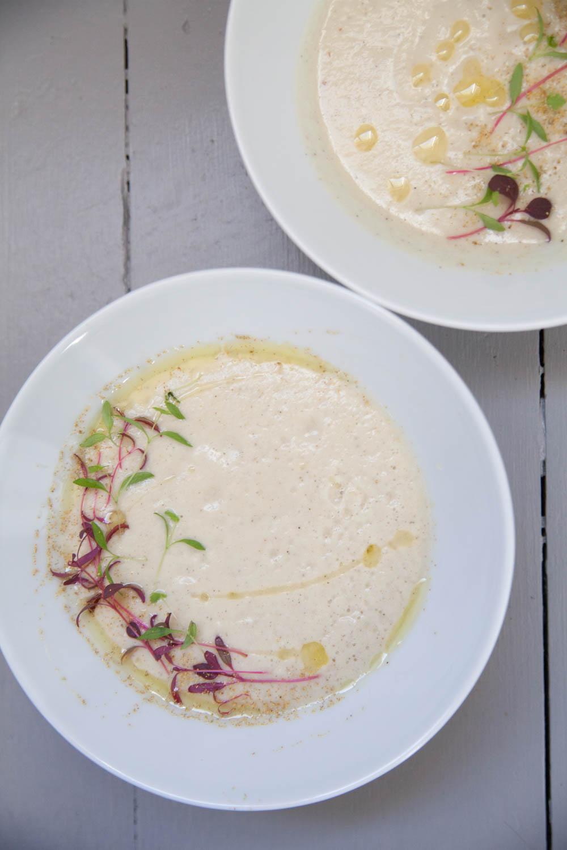 Сыроедческий Суп из Фенхеля и Груш