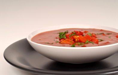 Сыроедческий Суп из Красного Болгарского Перца