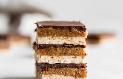 Сыроедческие Карамельно-Миндальные Пирожные