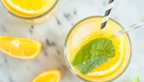 Сыроедческий Апельсиново-Кокосовый Напиток