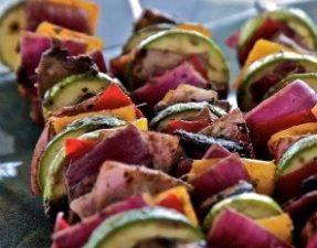 Сыроедческий Овощной Кебаб