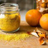 Сыроедческий Порошок из Апельсиновых Корок